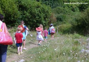 Excursiones al aire libre en plena naturaleza - www.Aorganizarte.com