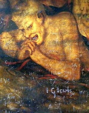 Das Tafelbild stammt vermutlich von Lucas Granach d.J.