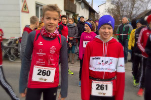 v.l. Alex Häberle, Annika Jendrusch