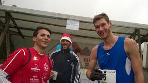 links: Edi Kunz - ganz rechts: Thomas Capellaro