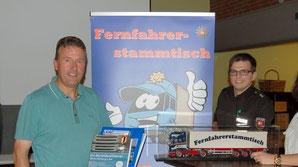 Fahrlehrer Reiner Wintjen und die Autobahnpolizei Sittensen