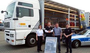 Fahrlehrer Reiner Wintjen und die Polizei Kreis Rotenburg