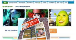 Fun Photo Box  has nice online photo effects in just one click