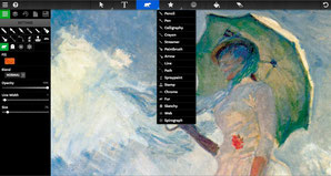 Sketchpad a paint and drawing free online application