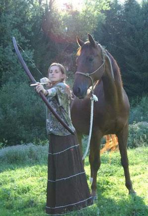 Liebeserklärung an Pferd Luke / Charlotte Amend