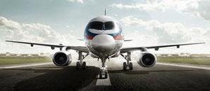 Sukhoi's SSJ100  /  company courtesy
