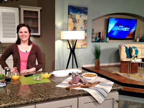 Making dinner on Great Day SA!