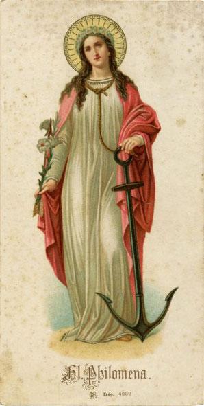 Statue de Saint Pérégrin Eglise de Saint Martin d'Aubigny Manche