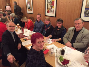 v. l. - vordere Reihe: Axel Markwardt (Delegierter), Birgit Schmidl (Delegierte); hintere Reihe: Olaf Uhl, Elke Kronawitter (Delegierte), Anke Liebsch (Delegierte), Thomas Bonz