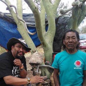 Don Lauro und Don Chapito, zwei Sternenbrüder in Menschengestalt, mit tiefem Respekt und Dank