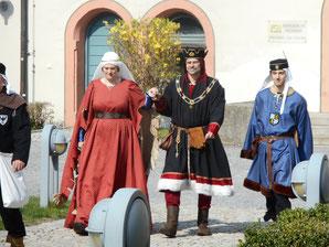 Fotos: Mittelalterfreunde Neumarkt e.V. Pfalzgräfisches Gefolge