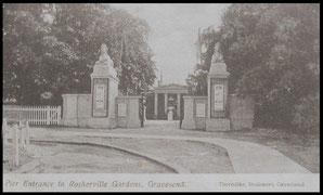 Pier Entrance to Rosherville Gardens, Gravesend.