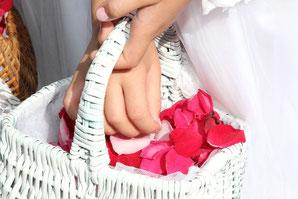 Blumenkörbchen, Blumenmädchen, Hochzeit