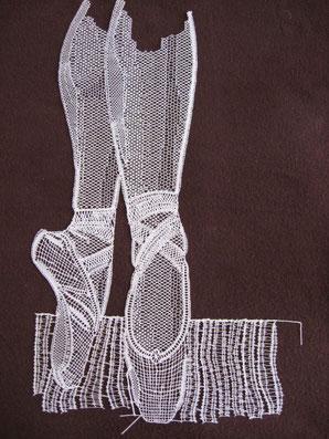 chaussons de danse