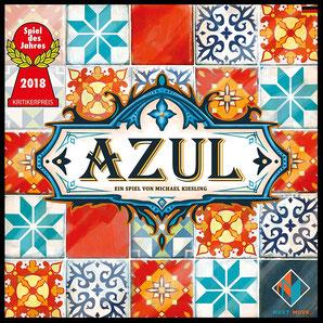 Azul ausgezeichnet mit Deutscher SpielePreis 2018