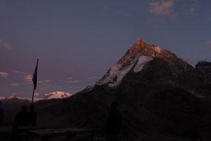 Schönbielhütte, Pointe de Zinal, Überschreitung, Matterhorn, Monterosa, Bergsteigen, Wandern, Wallis, Zermatt