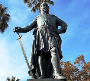 Скульптуры Барселоны. Адмирал Рожер де Льюриа