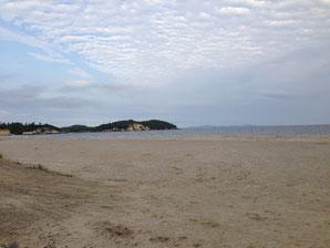 ▲海を見ていた午後…