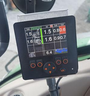 TERRA CARE Reifendruckregelanlage Traktor Anhänger Display