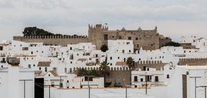 Vista del Castillo de Vejer. Foto: (cc) Wikipedia.org