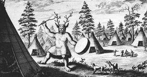 """Priester des Teufels"", 1692, Nicolaes Witsen: sibirischer Schamanismus"
