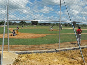 Nuestro Campo de baseball, de la Academia.
