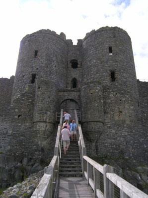 Harlech Castle - The Gatehouse.