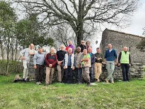 Randonnée de Ferrières-les-Verreries le 23 février 2021 anocr34.fr