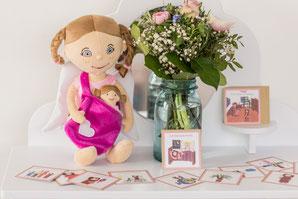 Mutmach-Puppen als Geschenk zur Geburt oder zur Taufe