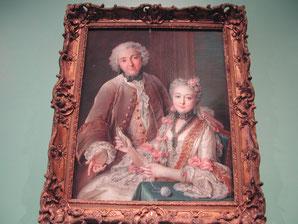Double Portrait Presumed to Represent François de Jullienne and his Wife Élisabeth de Séré de Rieux, Charles Antoine Coypel, 1743, Metropolitan Museum of Art, picture taken by Nina Möller