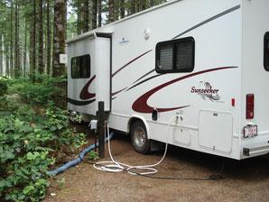 Parkside Campground / Elk Falls Prov.Park