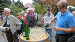 Besuch einer Winzerei in Großheringen