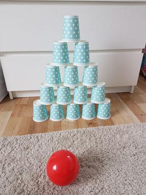 Bowlingspiel für die Kleinsten