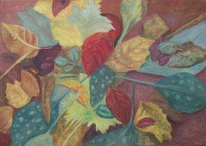 50 x 70 cm, Acryl