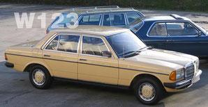 W123 在庫車リストへ・・・