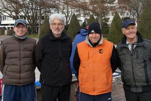 v.l. Torsten Breuer, Drago Radonjic, Ingo Schürmann, Erwin Scharwies