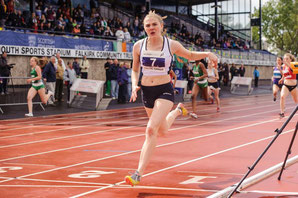 Alisha Rees joins Edinburgh AC - picture: Bobby Gavin