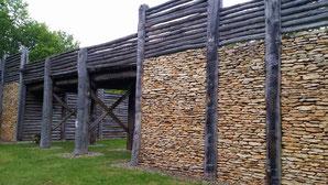 rekonstruiertes keltisches Stadttor, Kelheim