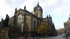 St Giles Cathedral und Mercat Cross, Edinburgh