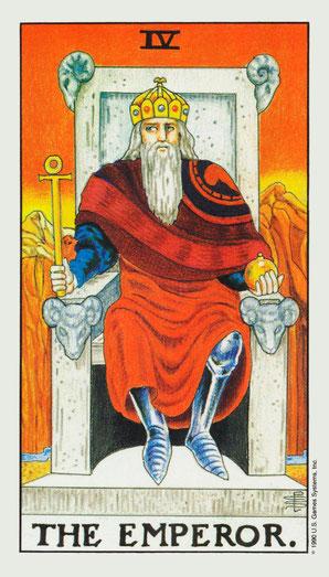El emperador número 3 de la baraja de tarot, interpretación