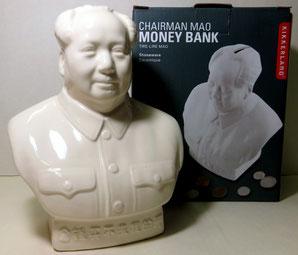 オイルライフ 毛沢東貯金箱