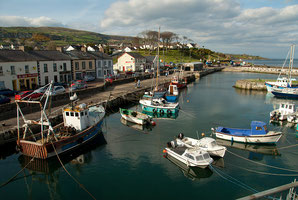 Carnlough Harbour by Art Ward