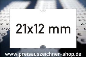 Etiketten 21x12 mm