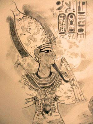 ツタンカーメン王墓の壁画~