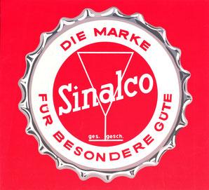 Poster Sinalco Limonade Bild (Werbung) . Plakat der Kahlenberg-Graphik um 1960.