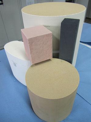 Oxidationskatalyse - wässrige, nanodisperse Katalysatorlösung zur Beschichtung von Keramikfiltern zur Abluftreinigung