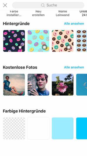 mit PicsArt Instagram Story Sticker erstellen