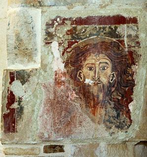 Santa Maria di Ronzano, affresco, Cristo. Mandylion