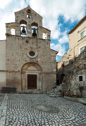 Castelvecchio Calvisio, chiesa di San Giovanni Battista
