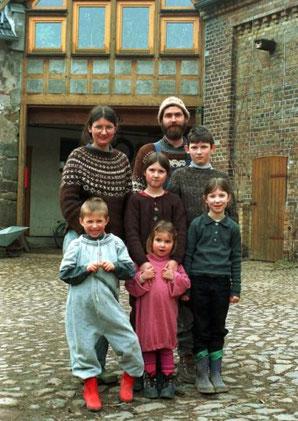 Familie Sommer 2003, Foto: Stefan Nöbel-Heise